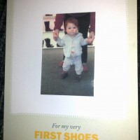 Exciting times: first shoes