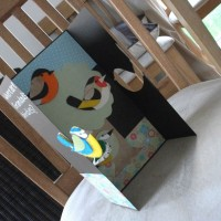 Personalised birthday cards: Grandad's birdies