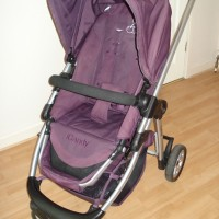 These wheels weren't made for rolling: iCandy Cherry travel system