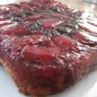 Apple and blackberry tarte tatin (inspired by the Great British Bake Off, episode 3)