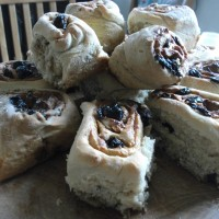 Red fruit Chelsea Buns (inspired by the Great British Bake Off, episode 7)