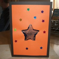Star Christmas cards