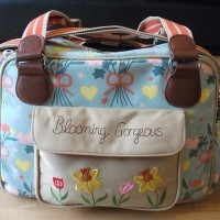 A blooming gorgeous changing bag (review)
