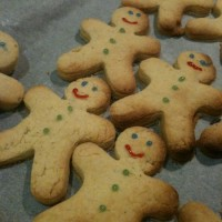 Wheat-free gingerbread men