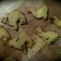 Old MacDonald had a farm….. of choc chip shortbread animals!