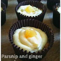 Cupcake of the month (April): parsnip and ginger