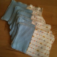 Washable wipes – homemade and upcycled