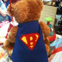 When Buster Bear came to a Nappyness meet-up