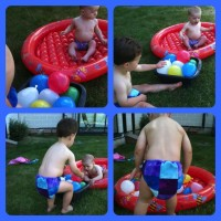 Water balloons – #CountryKids