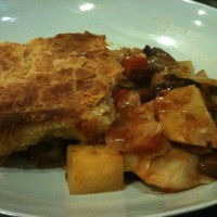 Tasty veg pie with puff crust – #GBBO inspired