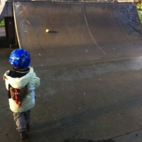 Toddler fun at the skate park – #CountryKids