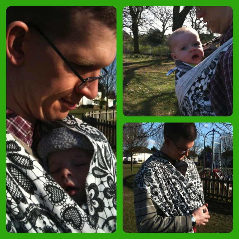 babywearing Collage 4