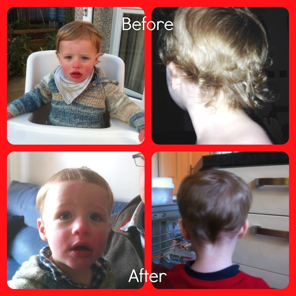 Joel hair Collage